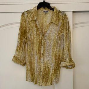 Women's JM blouse size XL.